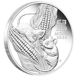 1 Dollars Argent Australie BE 2020 - Souris