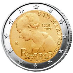 2 Euro Saint-Marin BU 2020 - 500 ans de la mort de Raphaël