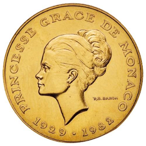 10? Francs Monaco 1982 - Essai Princesse Grace
