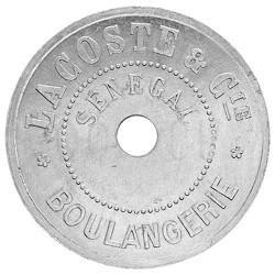 Monnaie de Nécessité Sénégal 1920-1925