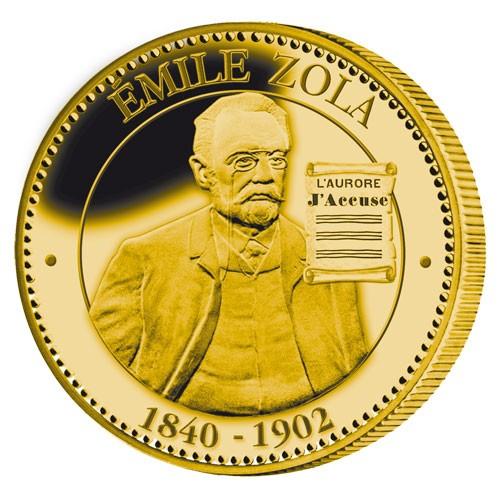Médaille Émile Zola