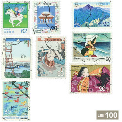 100 timbres Japon