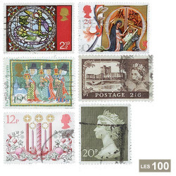 100 timbres Grande-Bretagne