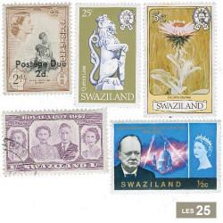 25 timbres Swaziland