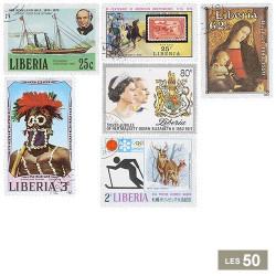 50 timbres Liberia