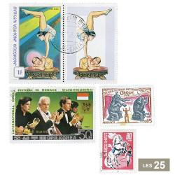 25 timbres Cirque