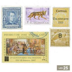 25 timbres Salvador