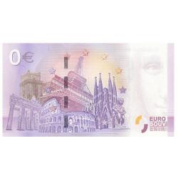 Billet Souvenir 0€ France 2018 - Viaduc de Millau