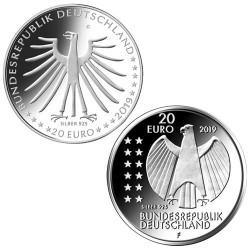 Lot des 2 x 20 Euro Allemagne BU 2019