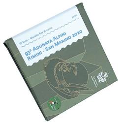 10 Euro Saint-Marin BE 2020 - Fleur de Coin Association des Alpins de Rimini