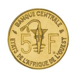 5 Francs État de l'Afrique de l'Ouest