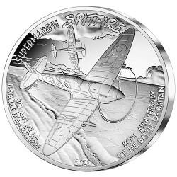 50 Euro Argent France BE 2020 - Spitfire