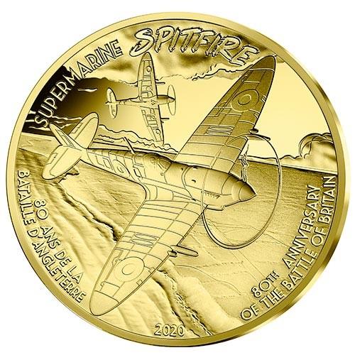 50 Euros Or France BE 2020 - Spitfire