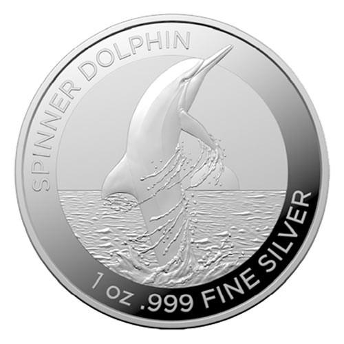 1 Dollar Argent Australie BU 2020 - Dauphin
