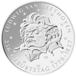 20 Euro Argent Allemagne BU 2020 - 250 ans de Beethoven