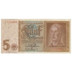 5 Reichmark Allemagne 1942