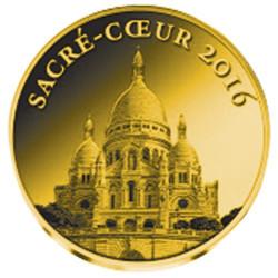 3 000 Francs Or BE 2016 - Le Sacré-Coeur