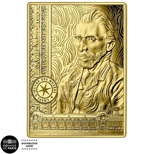50 Euro Or France BE 2020 - Van Gogh