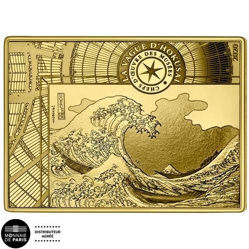 200 Euro Or France BE 2020 - La Vague d'Hokusai