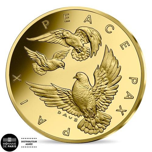 10 Euro Or France BE 2020 - 75 ans de la paix durable