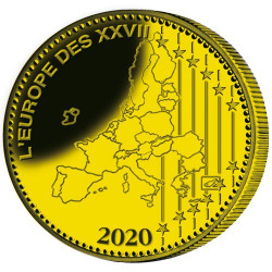 La pièce Euro Bronze France BE 2020