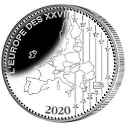 La pièce Euro Argent France BE 2020