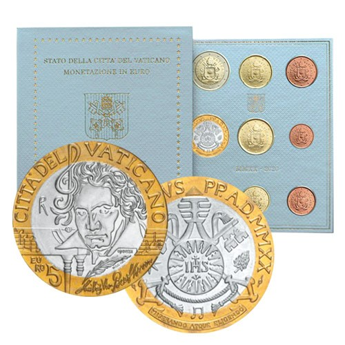 Série Vatican BU 2020 - 250 ans de la naissance de Ludwig van Beethoven
