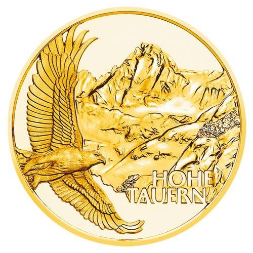 """50 Euro Or Autriche BE 2020 - """"Les hauts cols"""" des Alpes autrichiennes"""