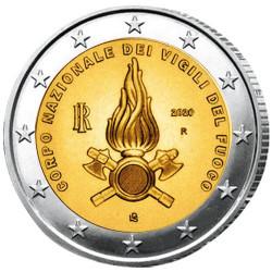 2 Euro Italie BE 2020 - Sapeurs-pompiers