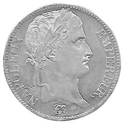 5 Francs Argent Napoléon 1er - Tête Laurée