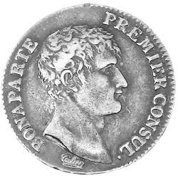 1 Franc Argent Bonaparte - 1er consul