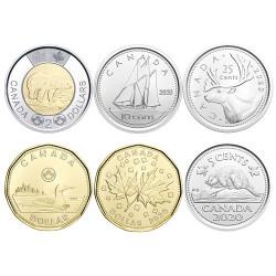 3,40 Dollars Canada BU 2020 - Série cadeau