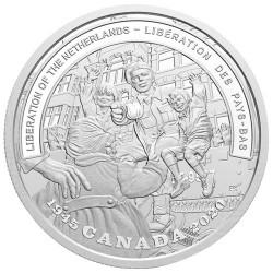 20 Dollars Argent Canada BE 2020 - Libération 1945