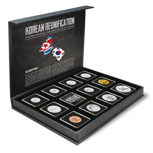 Coffret Corée du Nord et Corée du Sud