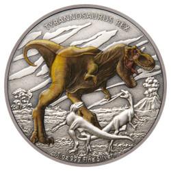 2 Dollars Argent BE 2020 colorisée - T.Rex