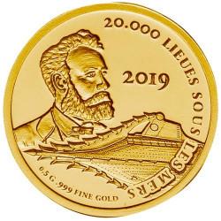 100 Francs CFA Or BE 2019 - 20 000 Lieus sous les mers