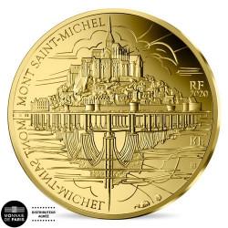 50 Euro Or France BE 2020 - Le Mont Saint-Michel