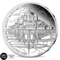 10 Euro Argent France BE 2020 - Le Mont Saint-Michel