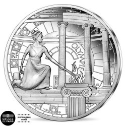 10 Euro Argent France BE 2020 - Olympie