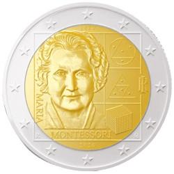 2 Euro Italie 2020 - Maria Montessori
