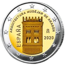 2 Euro Espagne 2020 - Mudéjar Aragón