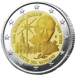 2 Euro Vatican BU 2020 - 100 ans de la naissance de Jean-Paul II