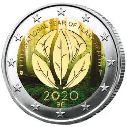 2 Euro Belgique 2020 colorisée - Santé des plantes