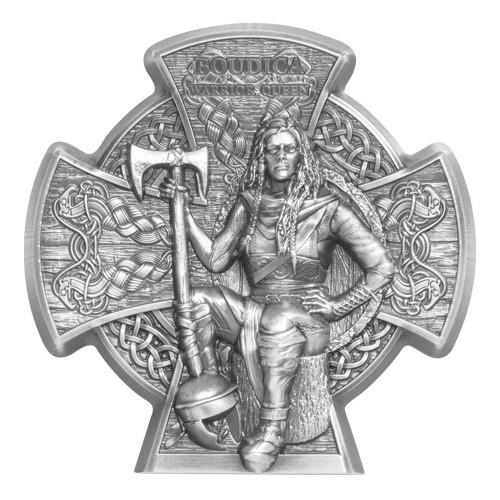5 Livres Argent 2020 - Boudica