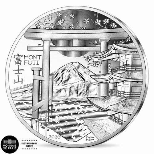 10 Euro Argent France BE 2020 - Mont Fuji