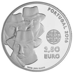 2,50 Euro Argent Portugal BE 2016 - Chant de l'Alentejo UNESCO