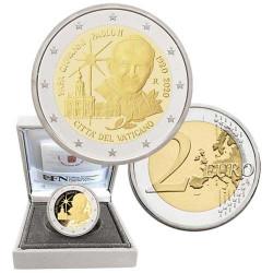 2 Euro Vatican BE 2020 - Centenaire de la naissance de Jean-Paul II