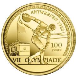 2,5 Euro Belgique BU 2020 - 100 ans des Jeux olympiques d'Anvers