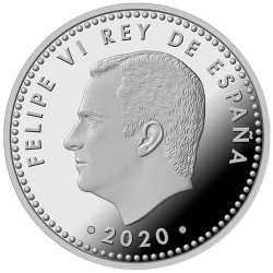 10 Euro Argent Espagne BE 2020 - UEFA Coupe d'Europe