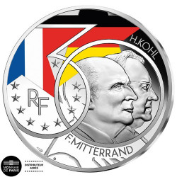 10 Euro Argent France BE 2020 - Mitterrand Kohl